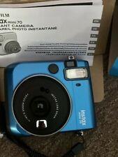 Fujifilm Instax Mini 70 Instant Color Film Camera - Blue