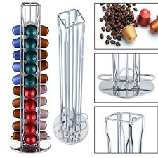 For Coffee Capsule  Revolving Rotating  Holder Tower Stand 40 Capsule Coffee Pod