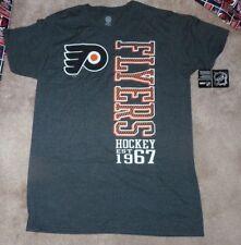 NEW NHL Philadelphia Flyers T Shirt Men L Large Grey Gray (measures small) NWT