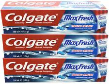 6x COLGATE TOOTHPASTE MAX FRESH BREATH MOUTHWASH ANTI CAVITY-100ML BIG SIZE
