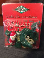 NEW In Packet Christmas Cake Decorations