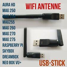 Wireless WiFi USB Dongle Stick MAG Iptv Dreambox Skybox Antenne 3 stück