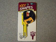 Tape Measure Kwikset KW1/KW10 house key blank.
