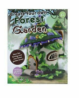 Create Your Own Forest Fairy Garden House Childrens Felt Sewing Craft Kit