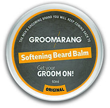 Groomarang Premium Softening Beard Balm for Beards Mustache Goatee 60ml - PR