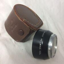 Bel-View 40.5mm UV Filter & Hood for Contax Zeiss Kiev Jupiter Lens Rangefinder