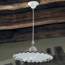 Lampadari da soffitto in ceramica per cucina ebay - Lampadari cucina rustica ...