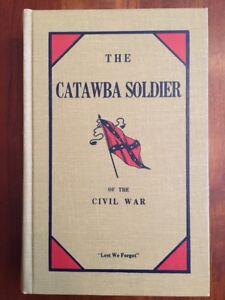 RARE 1978 Catawba Soldier of the Civil War, Hickory, North Carolina, Confederate