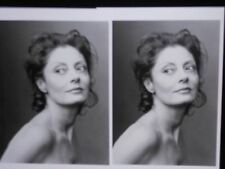 2 vintage photo postcards Susan Sarandon, New York City, Annie Leibovitz