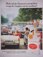 """PUBLICITÉ DE PRESSE 1972 CRAVEN """"A"""" LES CIGARETTES ANGLAISES LES PLUS VENDUES"""