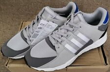 NEW Adidas EQT Support RF Equipment Trainers Grey Blue Mens Size 11