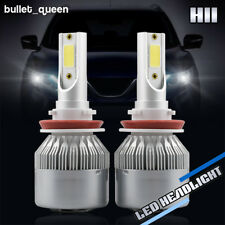 Cree LED Headlight Kit H8 H9 H11 1400W 210000LM 6000K Low Beam Fog Bulb HID 2018