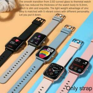Blood Pressure Blood Oxygen Heart Rate Monitor For P8 Reminder Watch Smart D3S6