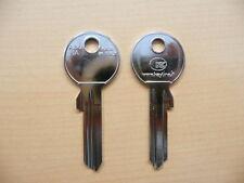 10 x Schlüssel Rohlinge Rohling ABU1A 743L AU5DL ABU-41D AB1X ABUS