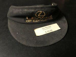 JOE MORGAN HOF/SIGNED AUTOGRAPH OFFICIAL Lexus Gold Pro Am Hat/Visor PSA COA