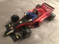 Hasbro Action Man Mission Grand Prix Racing Car and Driver Vintage Toys 2000