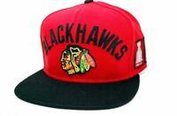 Chicago Blackhawks CCM NH55Z NHL 4X Stanley Cup Hockey Champs Snapback Cap Hat