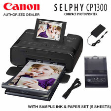 NEW! Canon SELPHY CP1300 Wireless Compact Photo Printer (Black) #2234C001