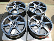 ADR VICTORY 17X7 10H BLACK 40OFFSET RIM WHEEL RSX CIVIC MAZDA HONDA