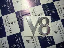 Schriftzug    V 8     MASERATI Scriot Scritto Badge 4200 Coupe Spyder GranSport
