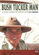 Bush Tucker Man: 8 Classic Stories of Survival with Les Hiddins (DVD, 2 Discs)