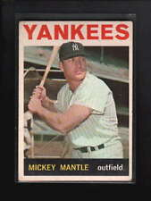 1964 TOPPS #50 MICKEY MANTLE VG-EX D4425