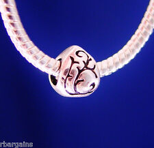 Memorial Love Loved One Memory Tear Silver European Charm Bead fit for bracelet