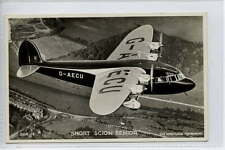 (Lh014-183) Real Photo of Short Scion Senior c1940 Unused EX 38A-14