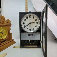 UPDATE! WORKS/READ Seiko Transistor Wall Clock Electro Magnetic Pendulum Sonola