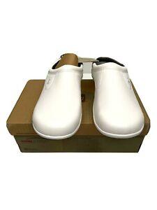 Spenco Pierce MD Slide Men's Size 13 US Professional Slip on Shoe White New