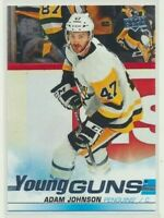 2019-20 Upper Deck Update Young Guns Rookie 517 Adam Johnson Pittsburgh Penguins