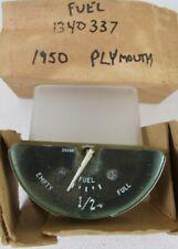 1950 Plymouth NOS MOPAR Gas Fuel Gauge