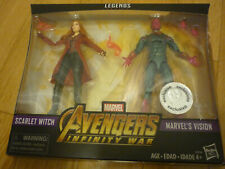 Marvel Legends Infinity War Toys R Us Exclusive Scarlet Witch Vision 2-pack, new