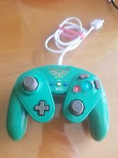Official Zelda Link Wii Controller Fight Pad NINTENDO U 085-006 tested working