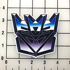 "Transformers Decepticon Logo 4"" Wide Vinyl Decal Sticker BOGO"