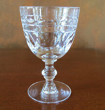 Tiffin Franciscan Liege #17394 Stem Polished Cut Water Goblet(s)