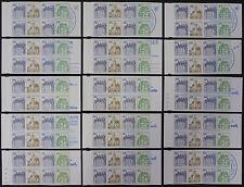 Berlin Markenheftchen Mi.Nr. 11 a-p postfrisch Mi.Wert 110,50 € (5767)