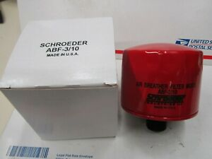 SCHROEDER AIR BREATHER FILTER MODEL ABF 3/10  SPIN ON (ABG10 ABF25 ABF 3/10) ,F3
