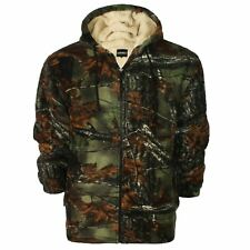 Mens Lumber Jack Hoodie Padded Fur Fleece Lined Sherpa Thick Shirt Winter Tops Hs3 - Colour 1 Hoodie Style 3 XXL