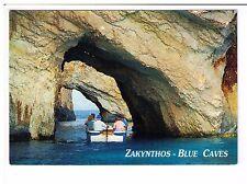 Postcard: Blue Caves, Zakynthos, Greece