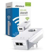 DEVOLO dLAN 1200+ WiFi ac Powerline 1200 Mbit/s WLAN ac, 2,4 und 5 GHz Adapter