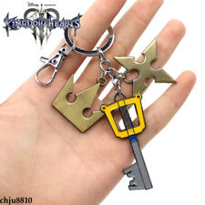 Game Kingdom Hearts Sora key ring alloy key chain Pendants Ornament Gift
