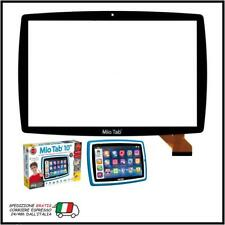"VETRO TOUCH SCREEN 10,1"" LISCIANI MIO TAB 10"" TUTOR 64229 MP0101066 NERO"