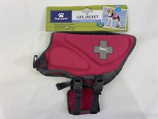 Top Paw Neoprene Dog Life Jacket Vest Pink Size Small 15-30 lbs