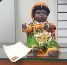 Sandy USA Doll African Little Sala Doll/Black Americana Figurine/Kwanzaa