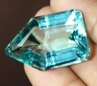 63.20 Ct Aquamarine Gemstone Loose Aquamarine Fancy Shape Best Offer