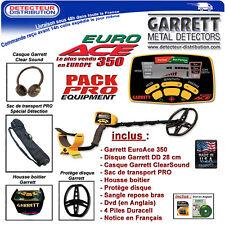 EuroAce - Détecteur de métaux - Garrett Euro Ace 350 Pack Pro - Garantie 2 ans
