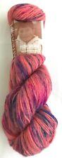 Mirasol Paqu Splash 100g Yarn Skein #1010 Rose Parade 100% Alpaca Hand-painted