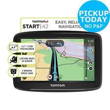 TomTom START 42 4.3 Inch Sat Nav Full Europe Lifetime Maps 2D/3D Maps
