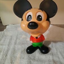New listing Vintage 1976 Mattel Mickey Mouse Pull String Talking Toy Walt Disney Productions